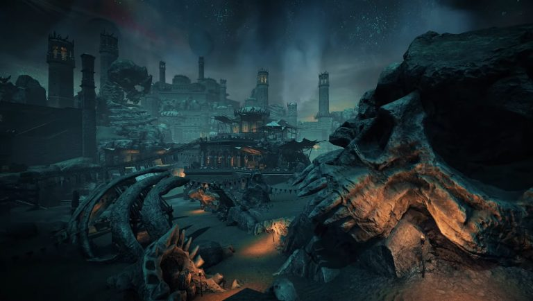A first glimpse into the new area of the Dead Lands.