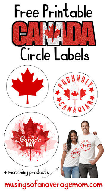 Canada Day free printables