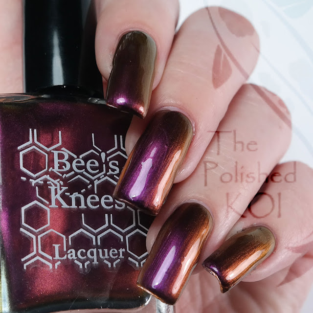 Bee's Knees Lacquer - Through the 4th and 5th Ribs
