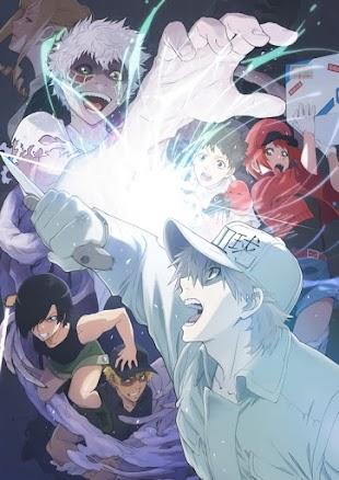 """تقرير فيلم الانمي Hataraku Saibou!!: Saikyou no Teki, Futatabi. ! (الخلايا في العمل!!: """"أقوى عدو، يعود مرة أخرى.)"""