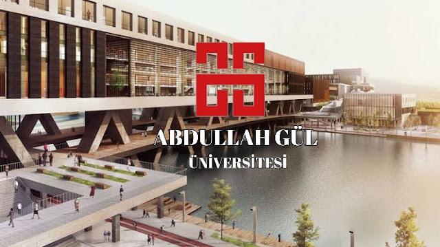 جامعة عبد الله غول Abdullah Gül Üniversitesi