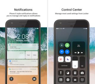 IOS11 Lock Screen - Phone X Locker Style v1.4 Premium Apk