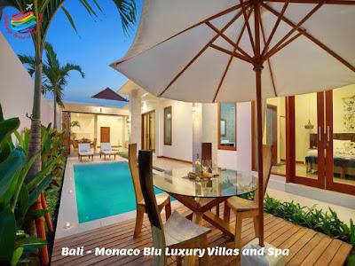 Bali - Monaco Blu Luxury Villas and Spa