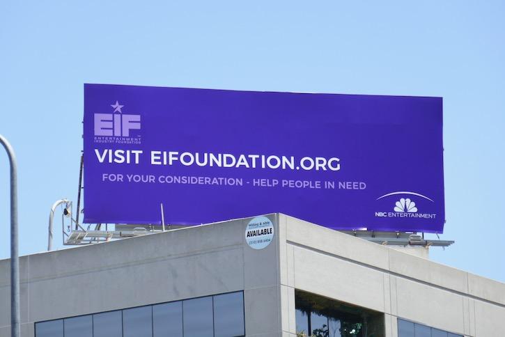 EIFoundation NBC Entertainment FYC billboard