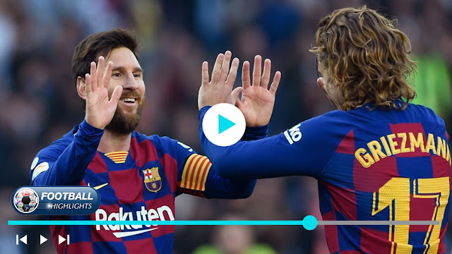Barcelona vs Eibar Highlights