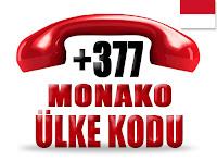 +377 Monako ülke telefon kodu