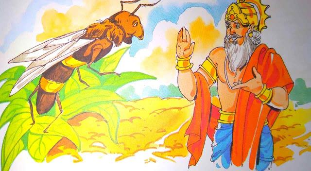 मधुमक्खी का डंक ( Story For Moral In Hindi )