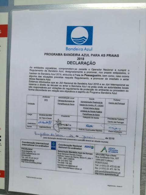 Programa Bandeira Azul para Praias