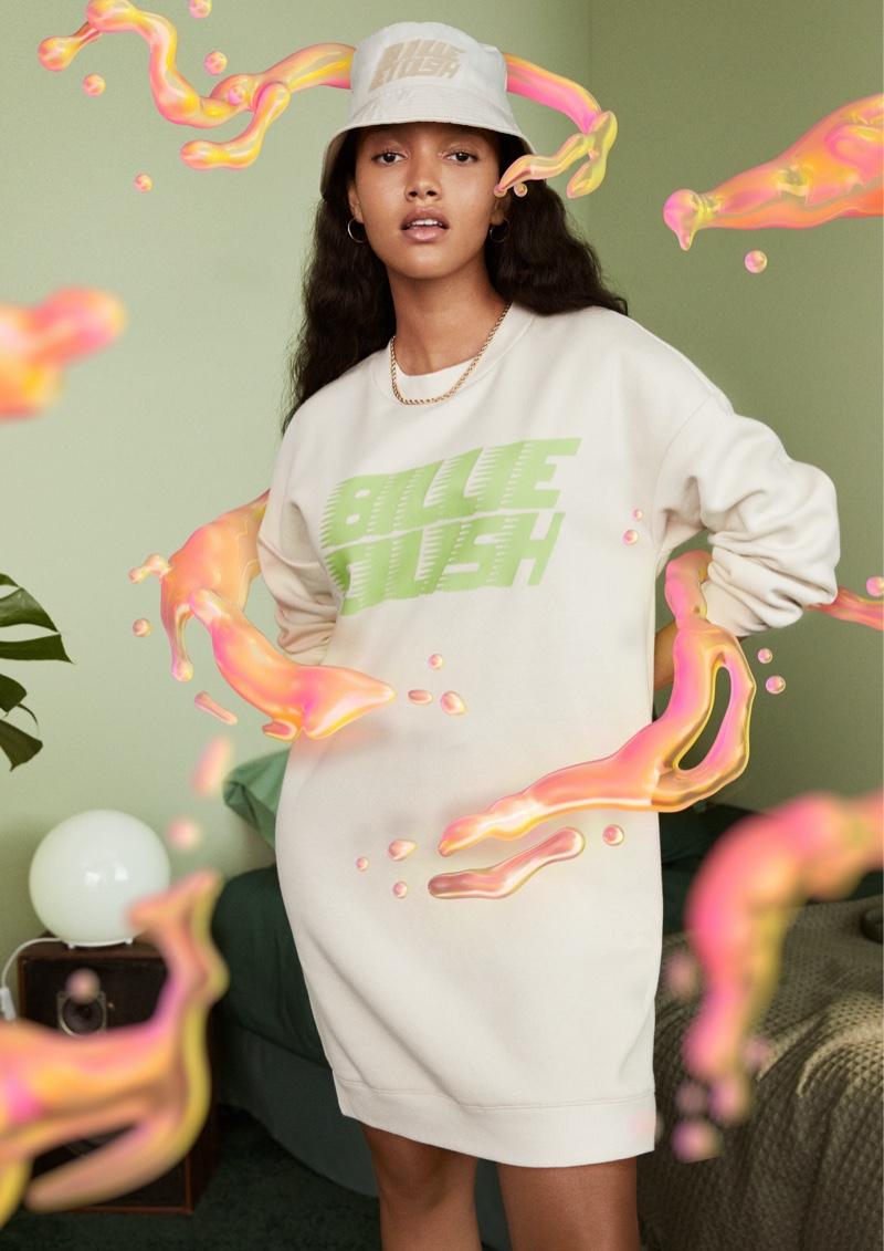 Billie Eilish's merch collection with H&M