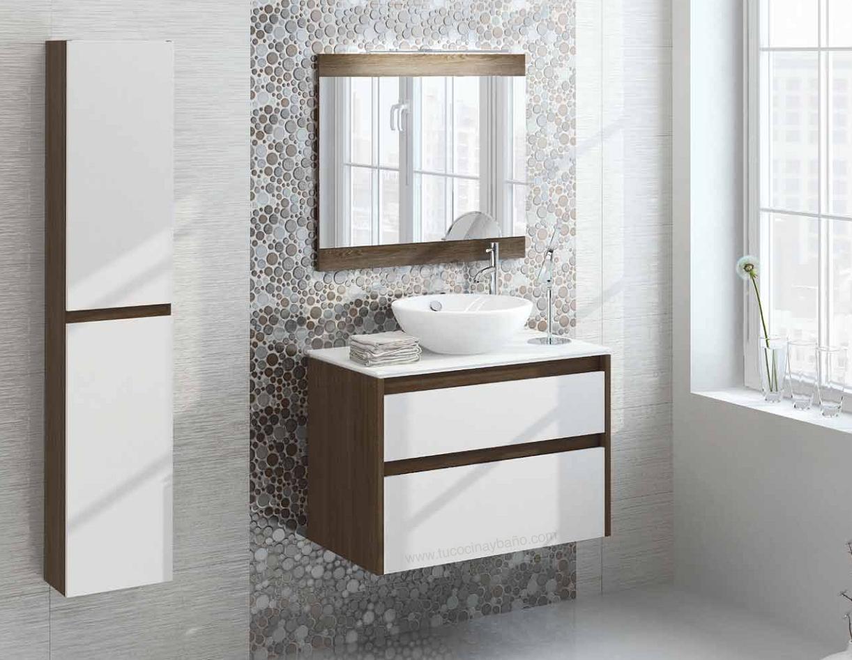 Mueble ba o blanco madera tu cocina y ba o - Muebles de bano madera ...