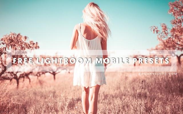 Free Lightroom Mobile Presets | best mobile Lightroom Presets