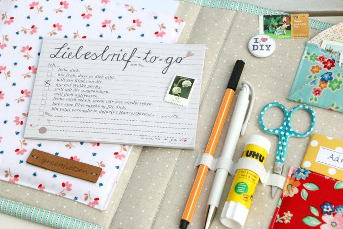 """Schreibmappe """"Happy Mail"""" aus Arbor Blossom von Nadra Ridgeway"""