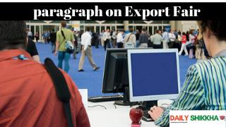 paragraph on Export Fair