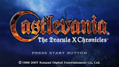 تحميل لعبة Castlevania: The Dracula X Chronicles لأجهزة psp ومحاكي ppsspp