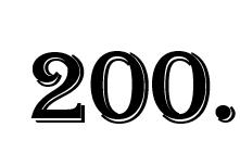 zweihunderterste