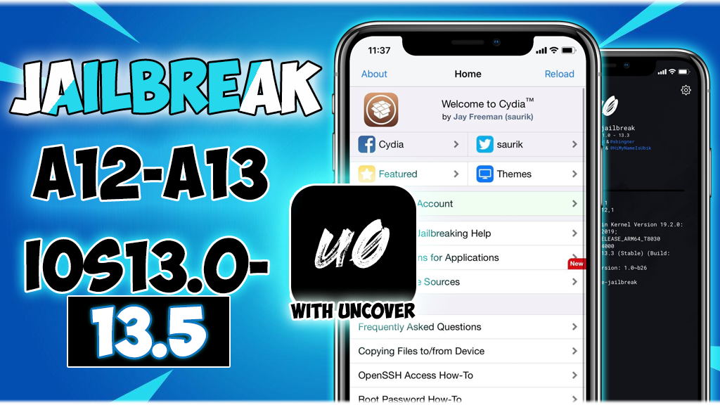 How to Jailbreak iOS 13.0-13.5 for All iPhones/iPads using AltStore/ Without Computer!