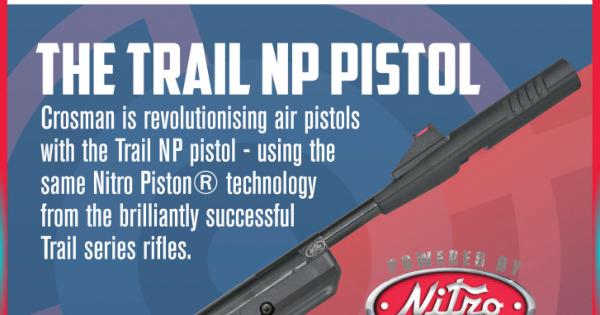 canada airgun freak: Crosman's Benjamin Trail NP air pistol