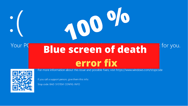 how to fix blue screen in windows 10 7 8 | Troubleshoot blue screen errors | Blue screen of death