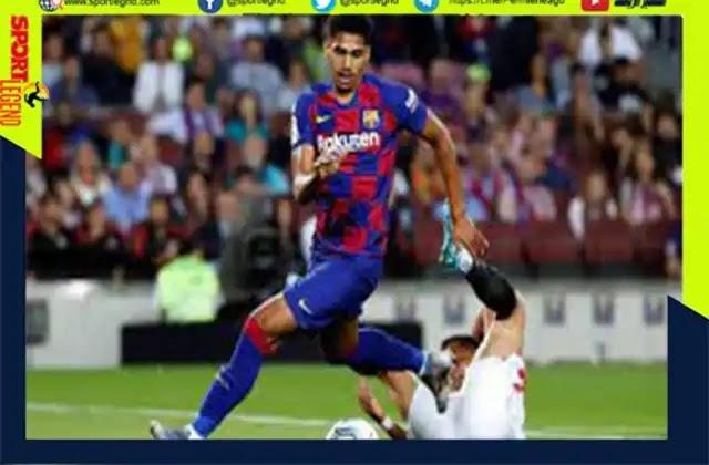 دوري ابطال اوروبا..عودة مدافع برشلونة رونالد أروخو قبل مباراة بايرن ميونيخ
