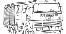 Feuerwehr Bilder Ausmalen