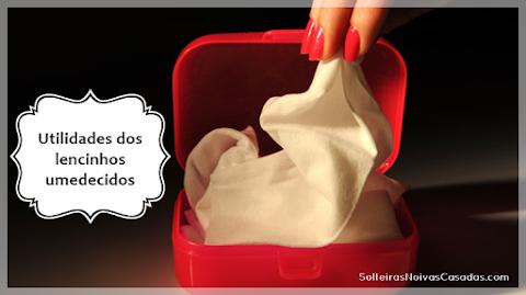 15 utilidades dos lencinhos umedecidos