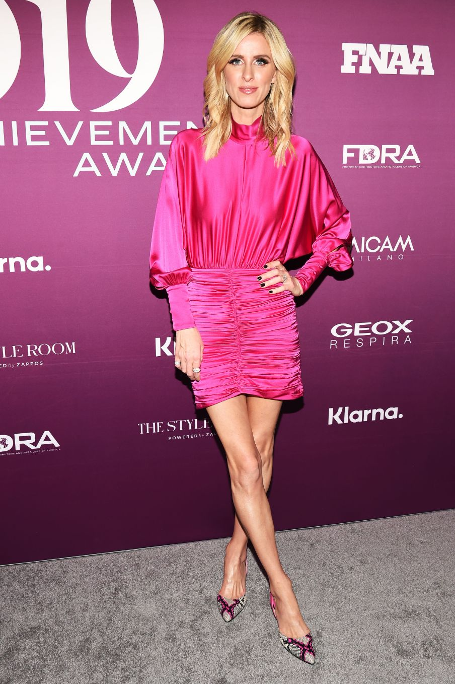 Nicky Hilton – Footwear News Achievement Awards 2019