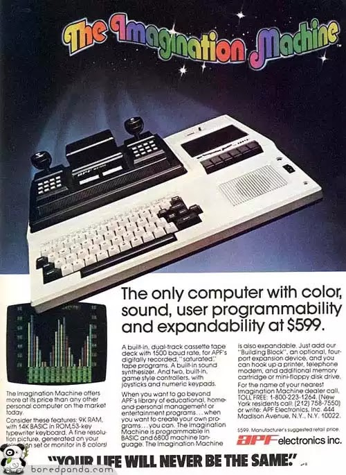 Old days' Computer Advertisements 57