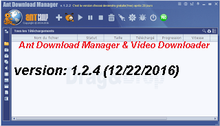 تحميل برنامج التحميل Ant Download Manager1.2.4 البديل لأنترنت دونالد منجر