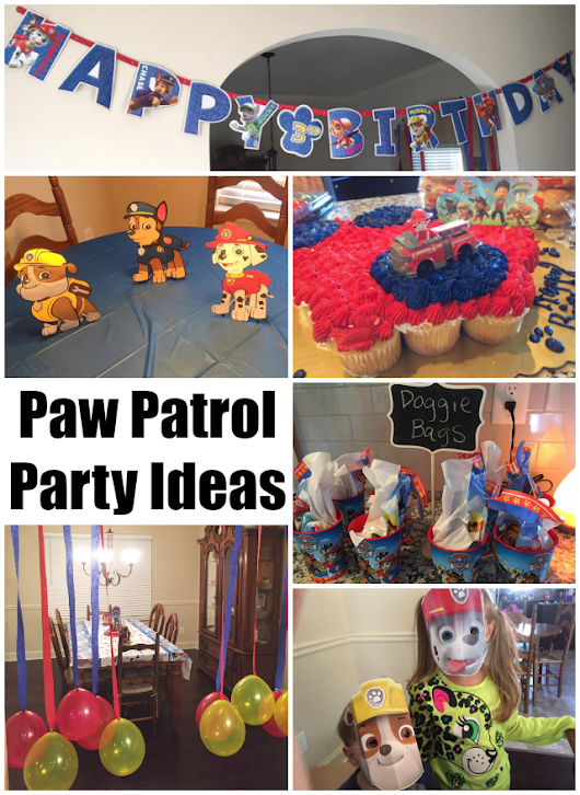 Peanut's 3rd Birthday - Paw Patrol Birthday Ideas
