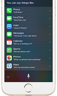 iOS 10 Manual step by step Using Siri