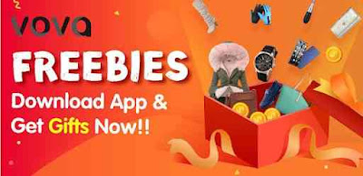 Get Free Products From Vova App + Refer & Earn Get Freebies