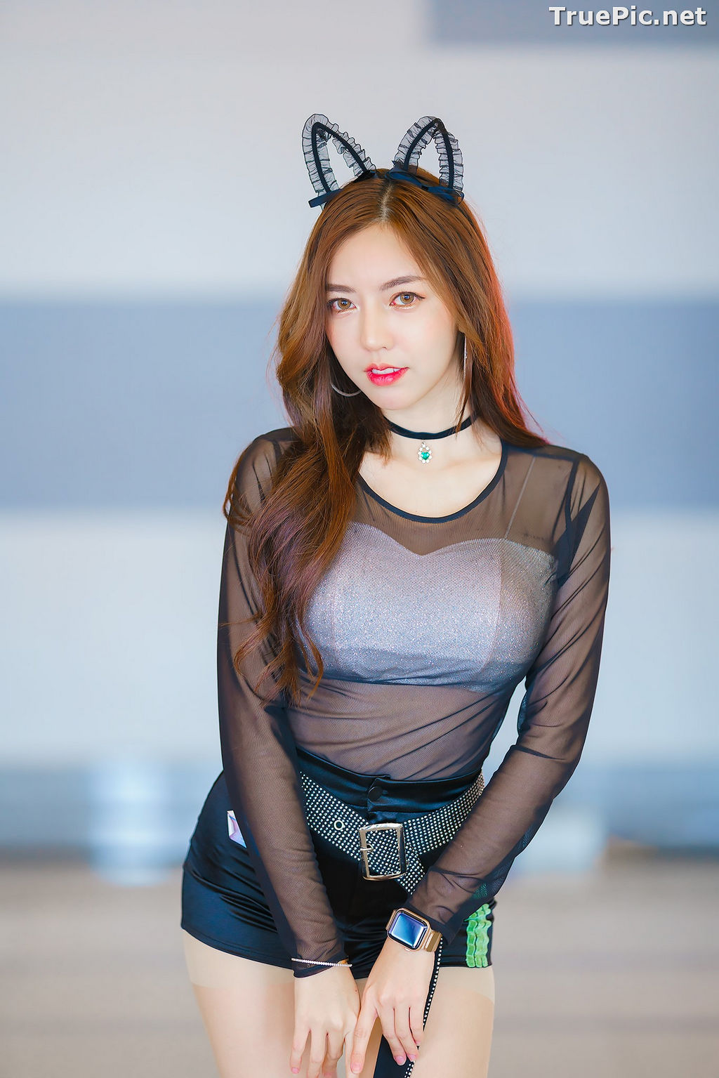Image Thailand Model - Champ Phawida - Cute Black Cat - TruePic.net - Picture-10