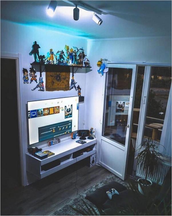 Small Gaming Room Ideas Home Interior Exterior Decor Design Ideas