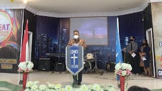 Peringatan Dies Natalis ke-71 Gerakan Mahasiswa Kristen Indonesia