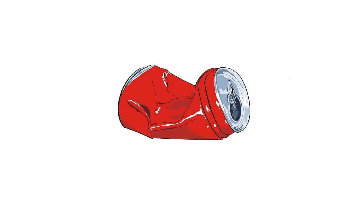 beber Coca-Cola para o resto da vida