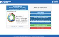 CONSULTA CONSTANCIA DE TRABAJO  ELECTRÓNICA  DEL MINISTERIO DEL PODER POPULAR PARA LA EDUCACIÓN
