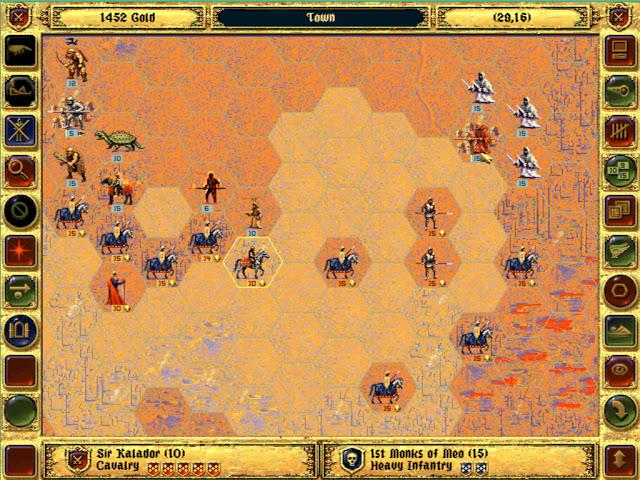 Monks of Meo   Fantasy General Screenshot