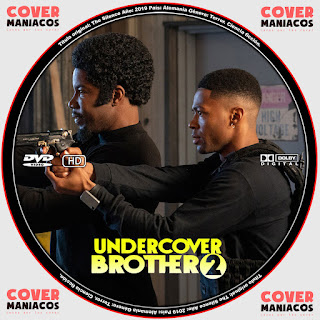 GALLETA 2 UNDERCOVER BROTHER 2 2019[COVER DVD]