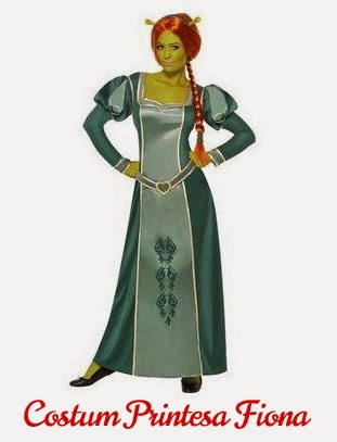 Costum Printesa Fiona Shrek