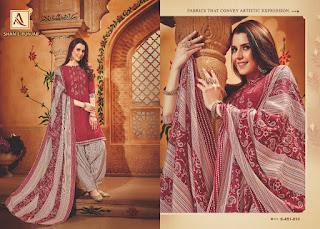 Alok Suis Shan E Punjab Pashmina Collection