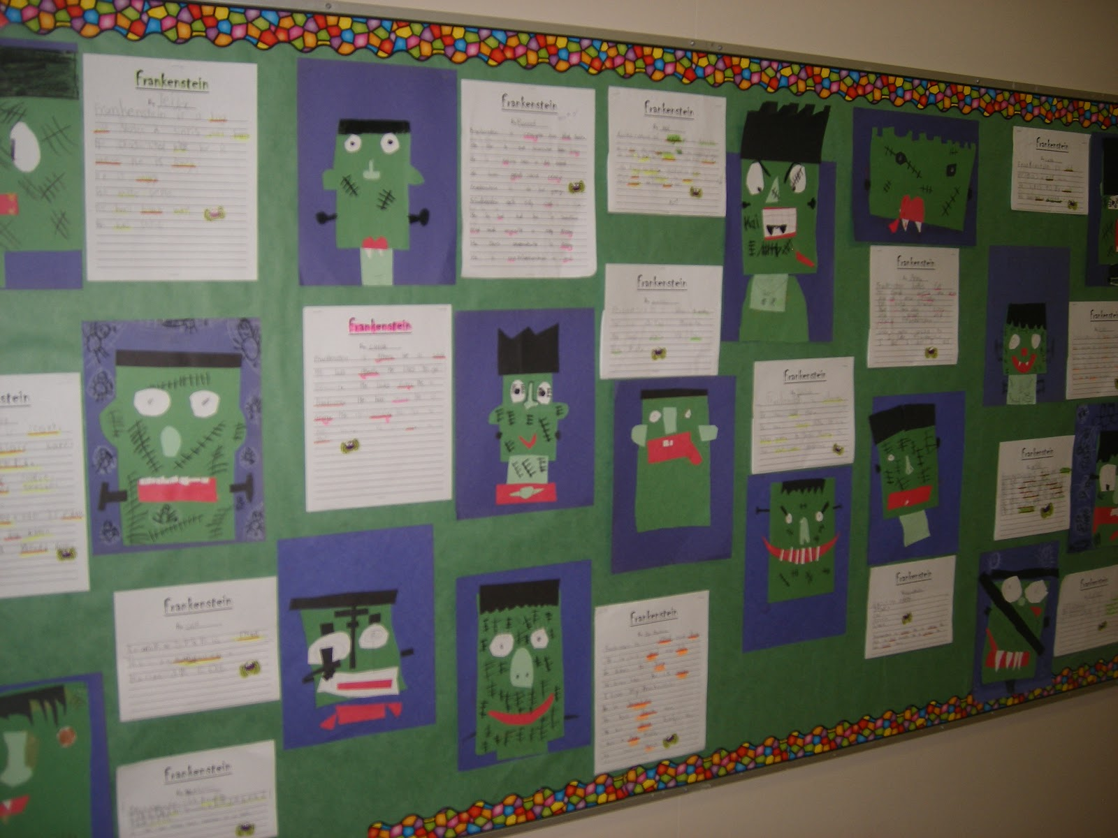 Singing Into First And Second Grade Fun With Frankenstein