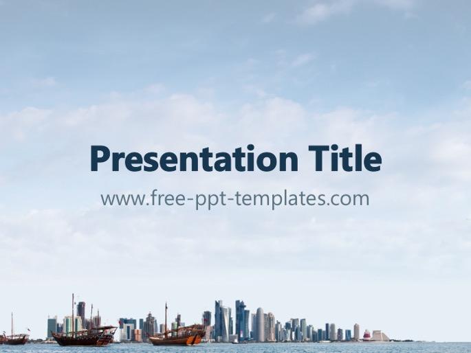 Free powerpoint templates qatar powerpoint template toneelgroepblik Image collections