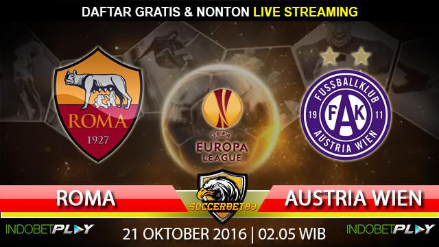 Prediksi Roma vs Austria Wien 21 Oktober 2016 (Liga Eropa)
