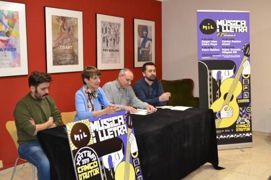 Paco Ibáñez encabeza el cartel del festival Música i Lletra 2019