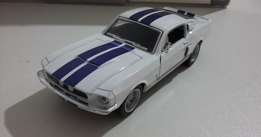 Mustang Shelby GT-500 1967 - Escala 1/38