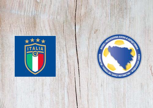 Italy vs Bosnia-Herzegovina -Highlights 04 September 2020