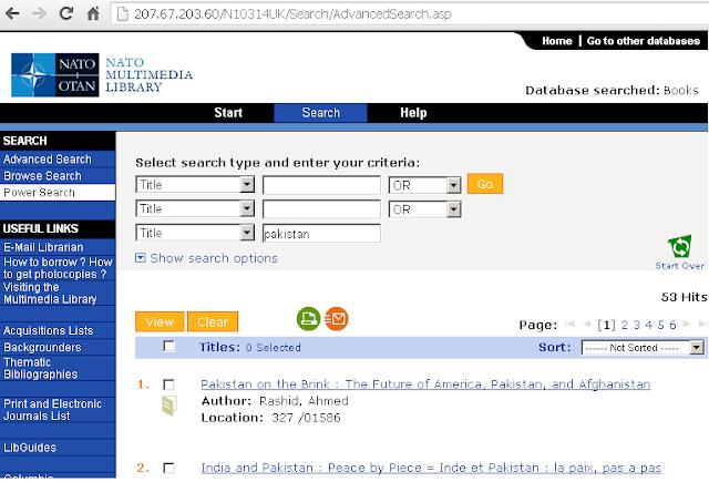 NATO+Multimedia+Library+Online+Catalog
