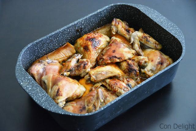 עוף ובטטות בסיר Chicken and sweet potato