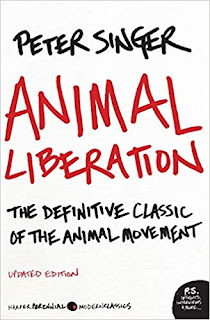 The animal books that changed people's lives, part 2. Cover of Animal Liberation