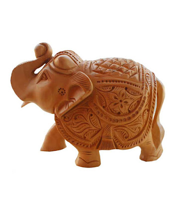 Wooden Elephant Handicrafts